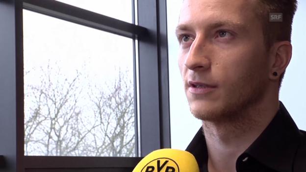Video «Fussball: Bundesliga, Reus verlängert bei Dortmund» abspielen