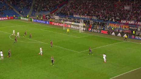 Video «Fussball: CL-Playoff, Basel-Maccabi, Tor zum 2:2» abspielen