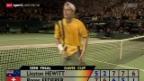 Video «Tennis: Eine Woche vor dem Daviscup-Viertelfinal» abspielen
