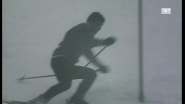 1968: Slalom-Sieg für Dumeng Giovanoli