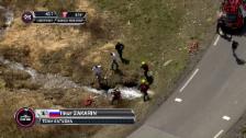 Video «Für Zakarin ist der Giro zu Ende» abspielen