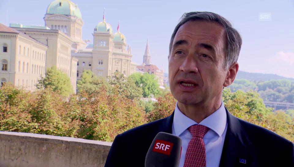 EU-Botschafter Matthiessen zum «Inländervorrang light»