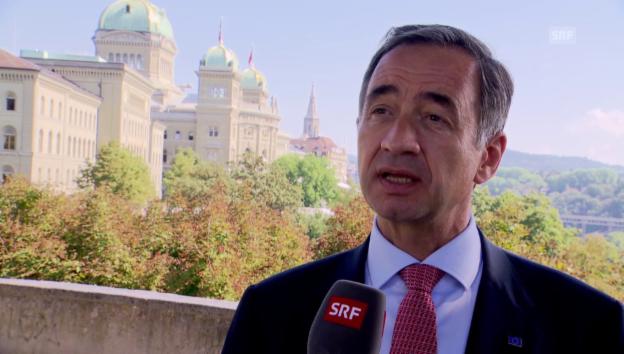 Video «EU-Botschafter Matthiessen zum «Inländervorrang light»» abspielen