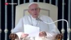 Video «Papst ist konservativer als gedacht» abspielen