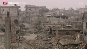 Video «Eine Stadt in Trümmern» abspielen