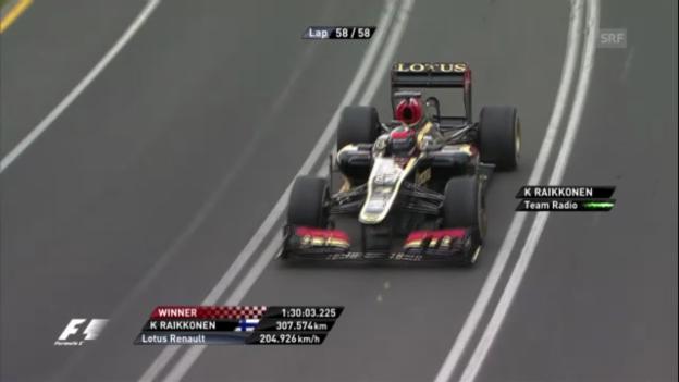Video «F1: GP Australien, letzte Runde» abspielen
