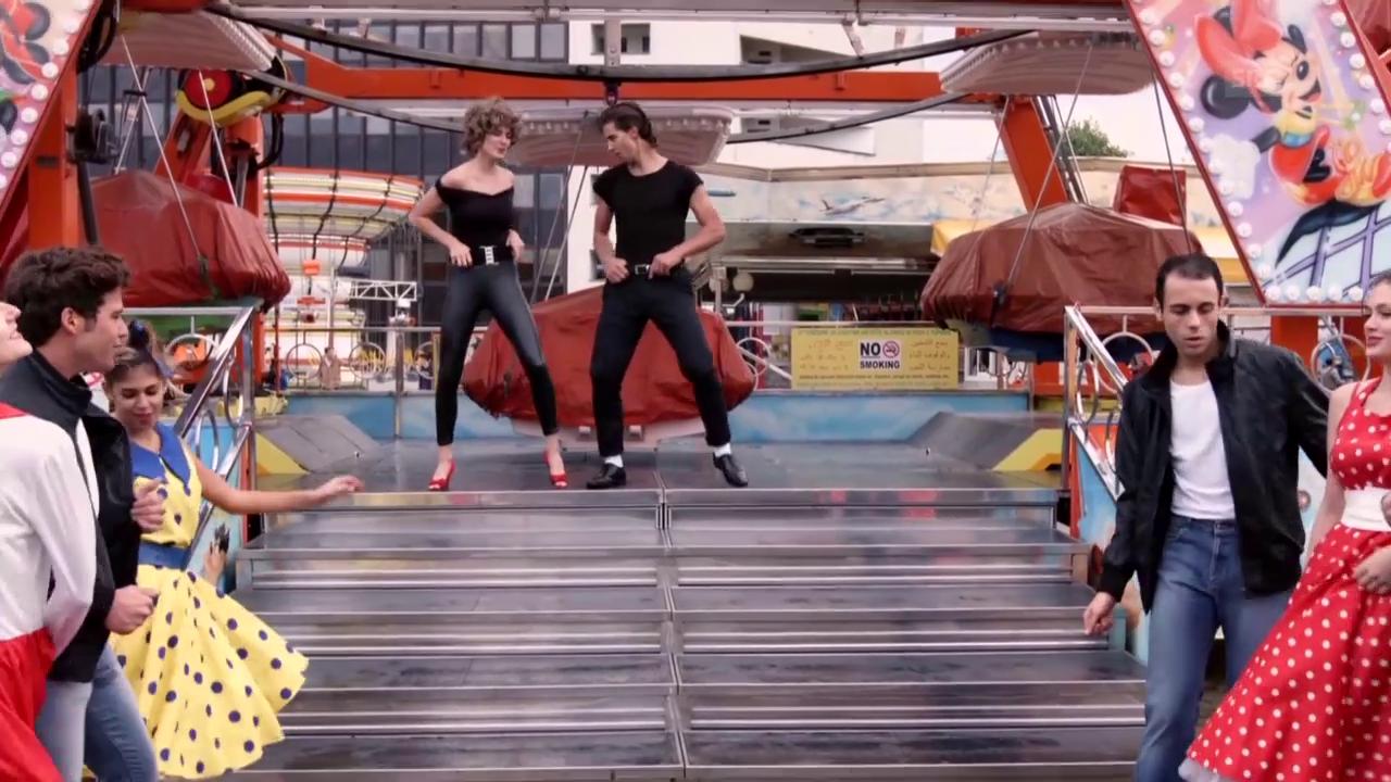 Rad: Peter Sagans «Grease»-Performance