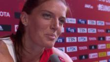 Video «LA: WM in Oeking, Interview mit Lea Sprunger» abspielen