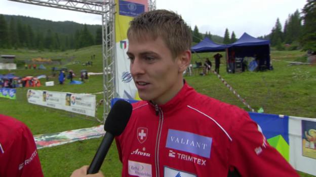 Video «OL: WM in Italien, Interview mit der Männer-Staffel» abspielen