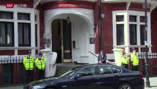 Video «Julian Assange will raus» abspielen