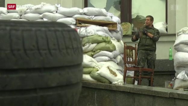 Video «Angriff auf Donezk» abspielen