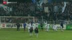 Video «Fussball: Schweizer Cup, Viertelfinal, Aarau - Luzern» abspielen