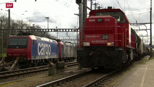 Video «Schwarze Zahlen für SBB Cargo?» abspielen