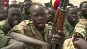 Video «300 Kindersoldaten befreit» abspielen