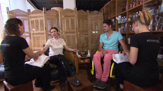 Querschnittlähmung - Gespräch mit Simon Hitzinger