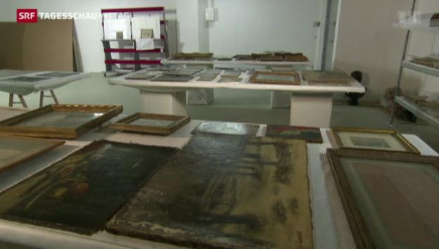 Video «Kunstmuseum Bern nimmt Gurlitt-Sammlung an» abspielen