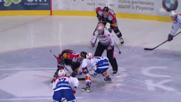 Video «Spiel 3: Fribourg - ZSC Lions («sportaktuell»)» abspielen
