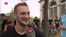 Link öffnet eine Lightbox. Video Eishockey: Das Sommertraining des SC Bern abspielen