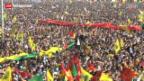 Video «PKK beendet in der Türkei den bewaffneten Widerstand» abspielen
