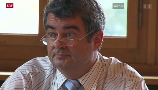 Video «Schwyzer Kantonsrat will keine Strafanzeige gegen Martin Ziegler» abspielen