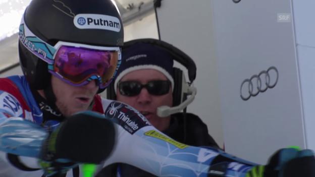 Video «Ski: Weltcup, Riesenslalom Sölden, Ligety 2. Lauf» abspielen