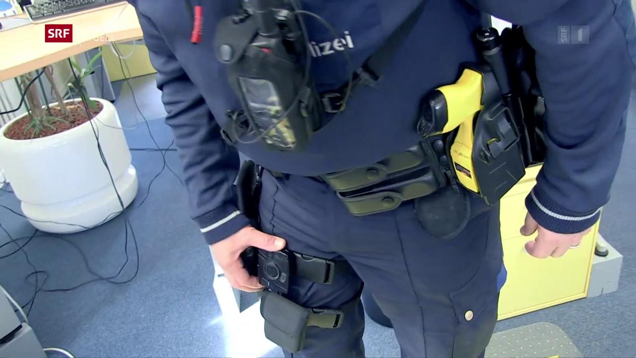 Stadt Zürich will Bodycams einsetzen