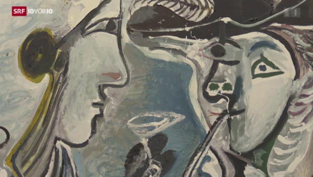 Video «Basler Picasso-Werke in Madrid» abspielen