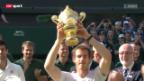 Video «Tennis: Murray triumphiert in Wimbledon» abspielen