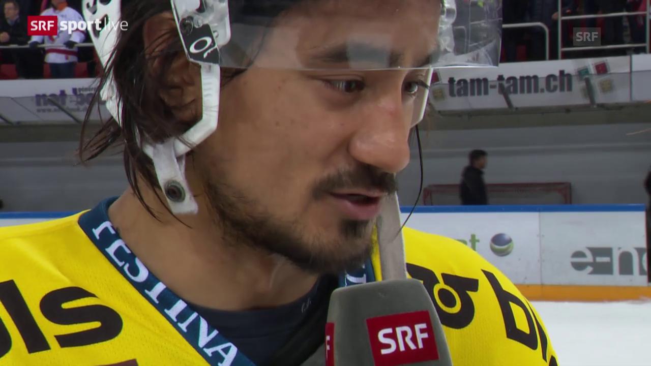 Eishockey: Playoff-Viertelfinal Spiel 6, Lausanne - Bern, Stimmen