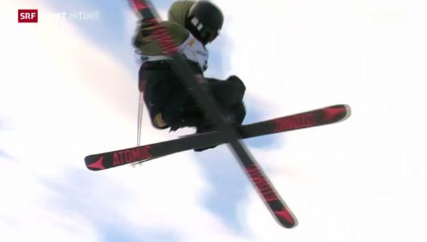 Video «Slopestyle: Der WM-Final der Freeskier in Kreischberg» abspielen