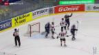 Video «Eishockey: Viertelfinal Schweiz - USA» abspielen