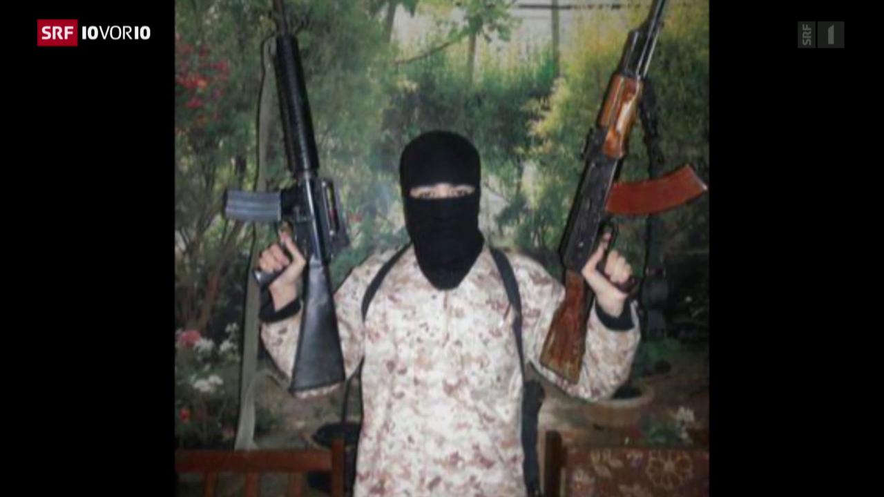 Der Schweizer IS-Kämpfer