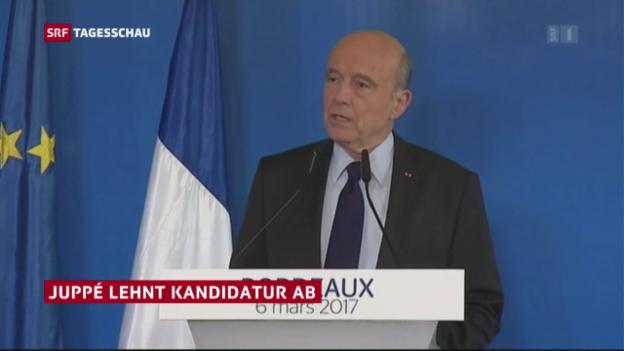 Video «Alain Juppé sagt ab» abspielen
