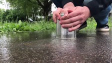 Video «Trick77: Büchse auf der Strasse» abspielen