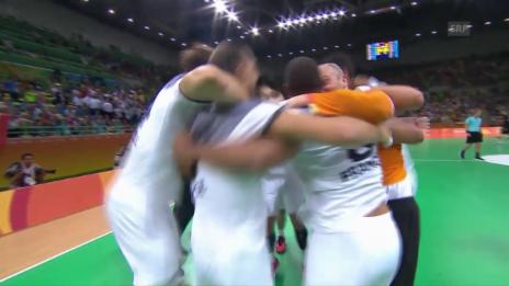 Video «Ein 36-Jähriger wirft Frankreich in den Final» abspielen