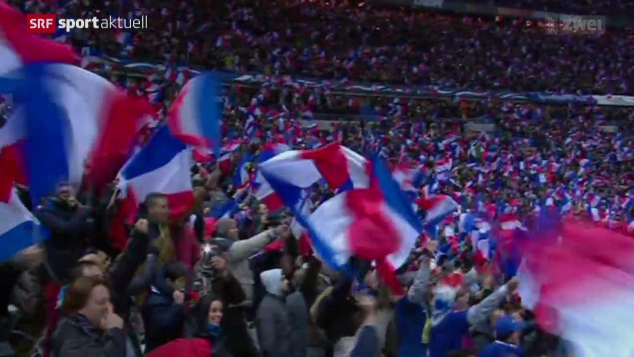 Fussball: WM-Quali, Frankreich - Ukraine