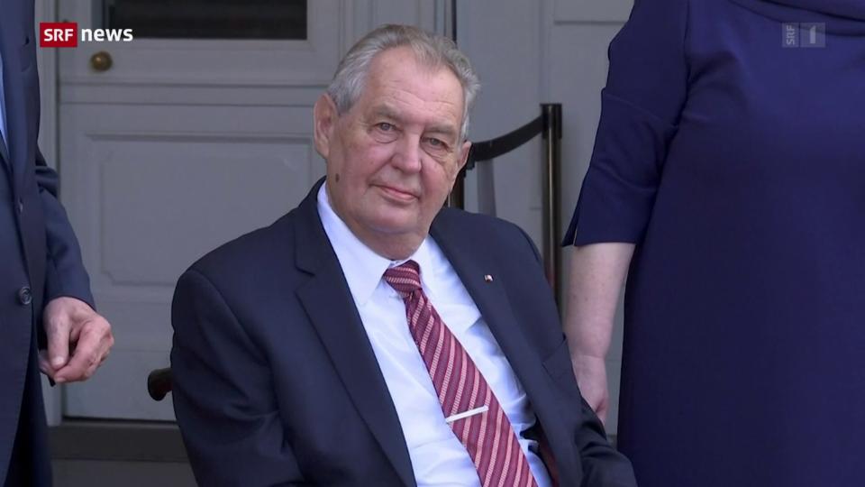 77-jähriger Präsident Tschechiens liegt im Spital