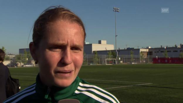 Video «Fussball: Esther Staubli über die Torlinien-Technologie» abspielen