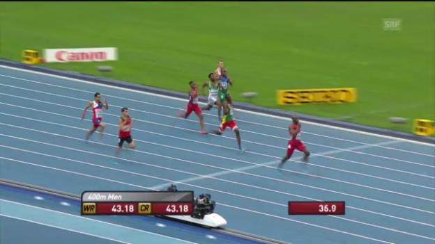 Video «LA-WM: Final über 400 m» abspielen