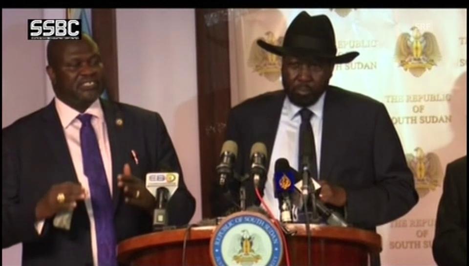 Machar: «Waffenstillstand von allen zu respektieren»