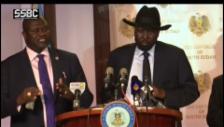 Video «Machar: «Waffenstillstand von allen zu respektieren»» abspielen