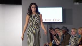Video «Fashion Week London: Whitney Toyloy auf dem Laufsteg» abspielen