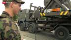 Video «Maurer präsentiert Rüstungsprogramm» abspielen