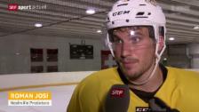 Video «Eishockey: Roman Josi vor der nächsten NHL-Saison» abspielen
