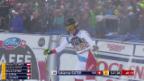 Video «Fabienne Suter fährt beim Heimrennen auf's Podest» abspielen