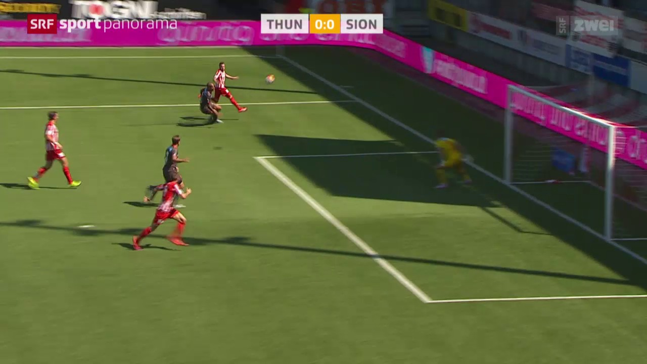 Fussball: Super League, Thun - Sion