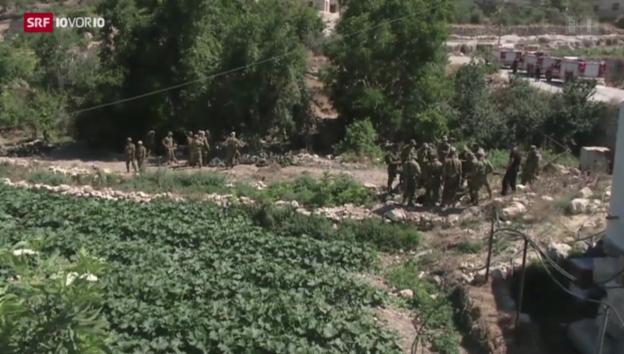 Video «Israelische Teenager sind tot» abspielen