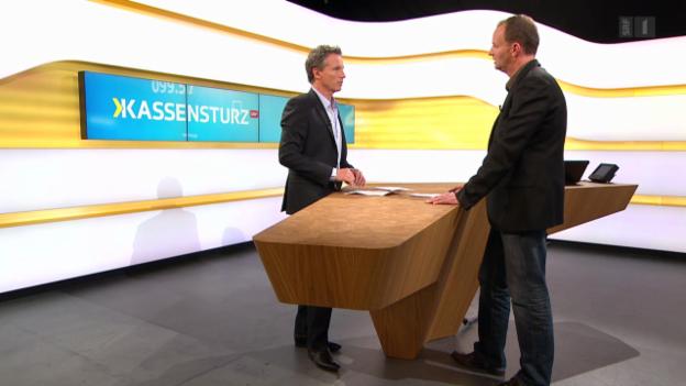 Video «Studiogespräch mit Stefan Leutwyler von der GDK» abspielen