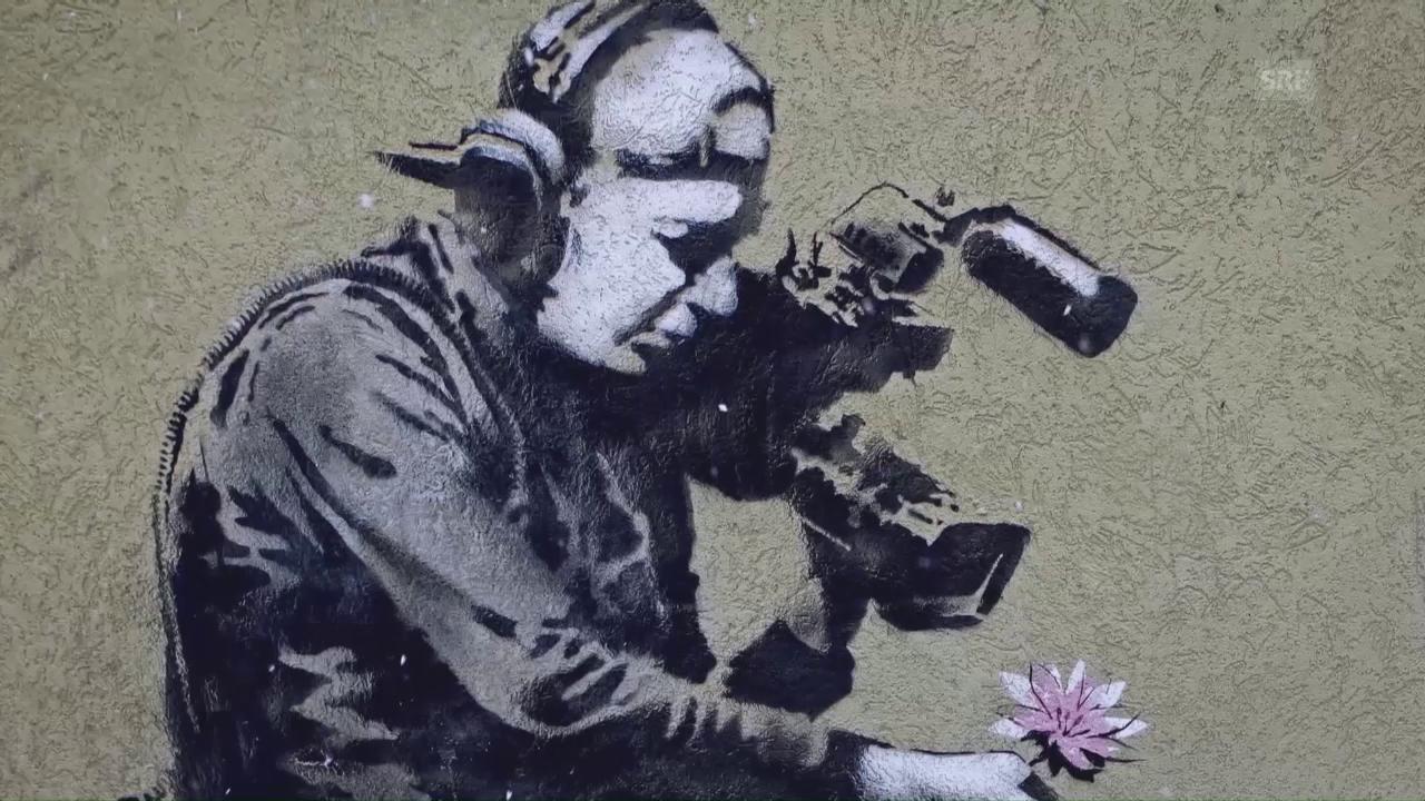 Jojo Mayer: Banksy als Inspiration