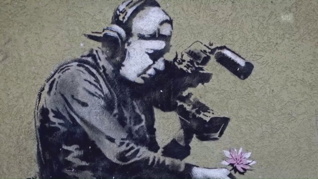 Video «Jojo Mayer: Banksy als Inspiration» abspielen